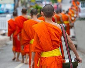 琅勃拉邦旅游攻略图片