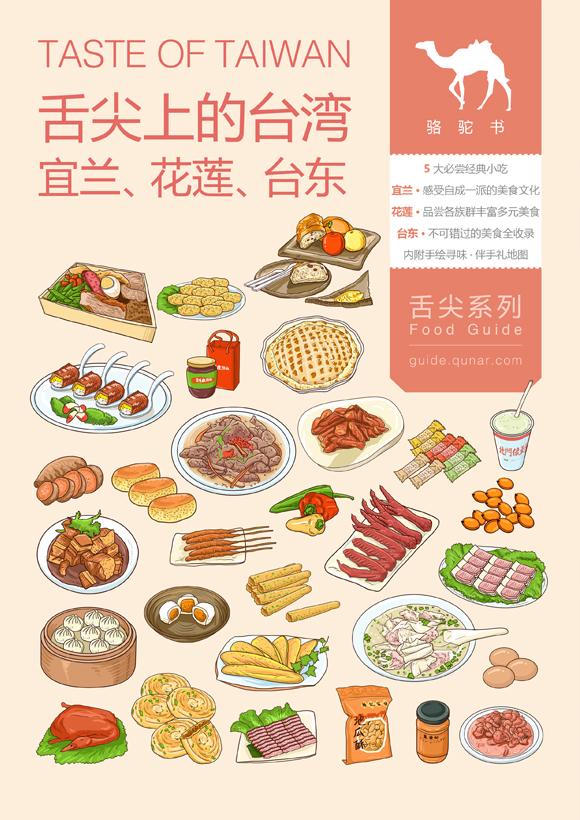舌尖上的台湾(宜兰、花莲、台东)旅游攻略图片