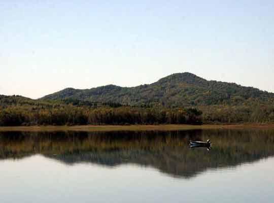 舒兰亮甲山旅游风景区