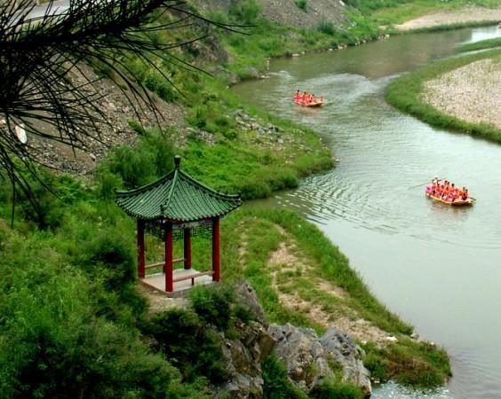 丹江漂流旅游景点图片