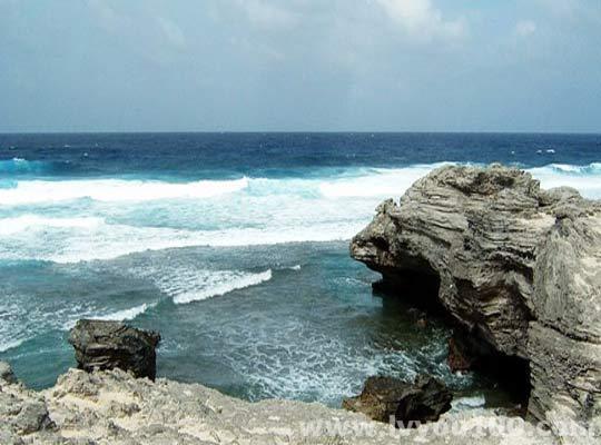 磷枪石岛旅游景点图片