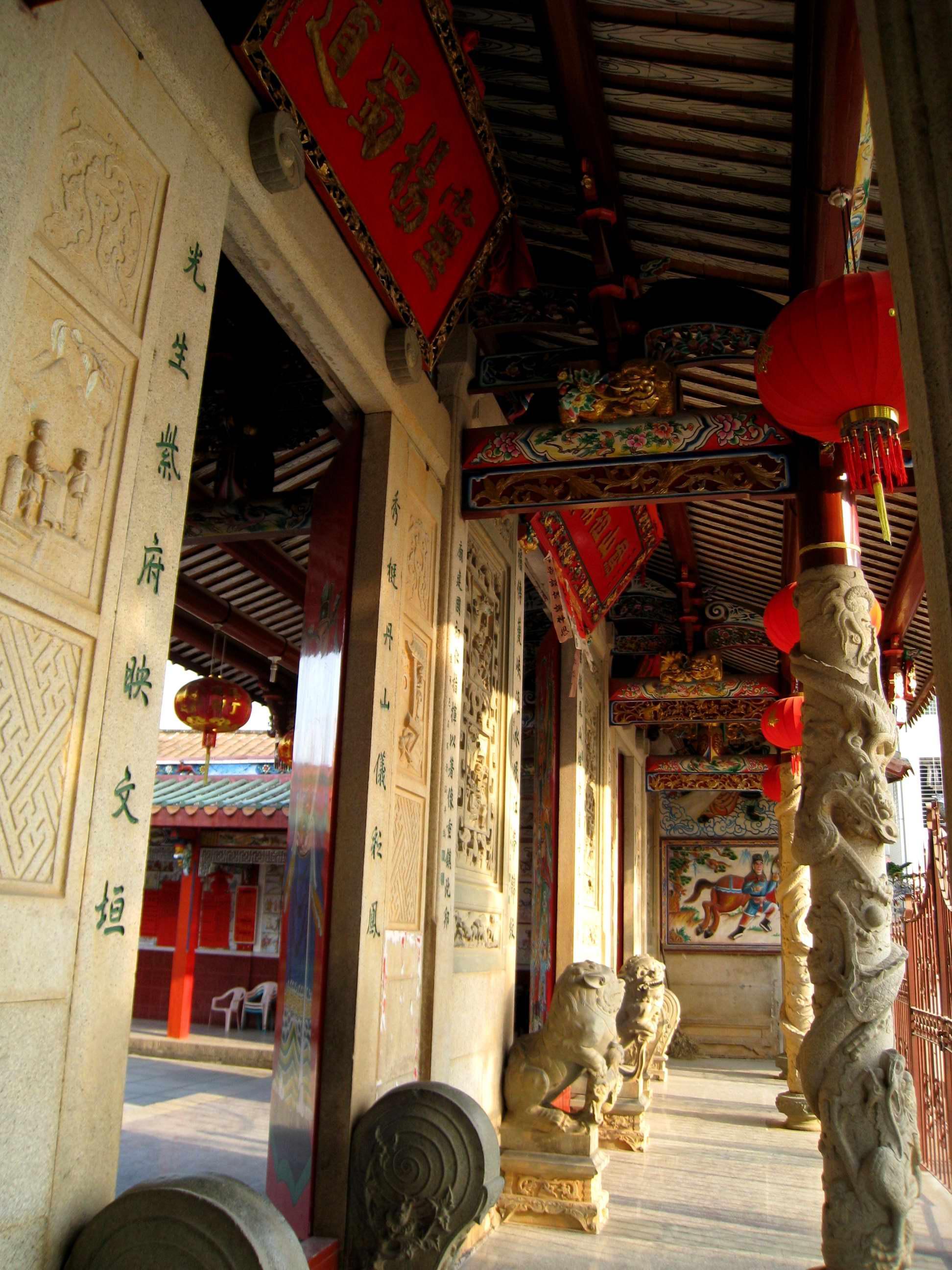 灌口凤山庙旅游景点图片