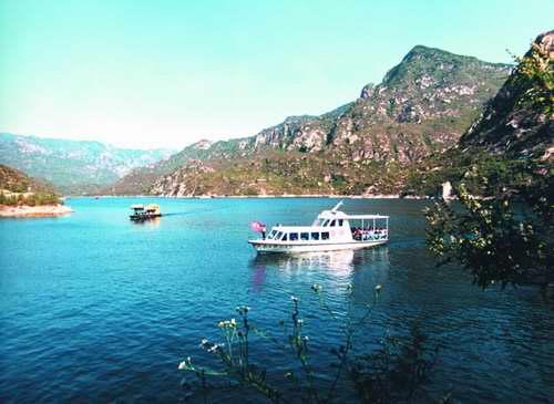 青龙山熊河旅游景点图片
