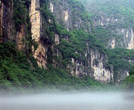 荆竹峡-汉风神谷旅游景点图片