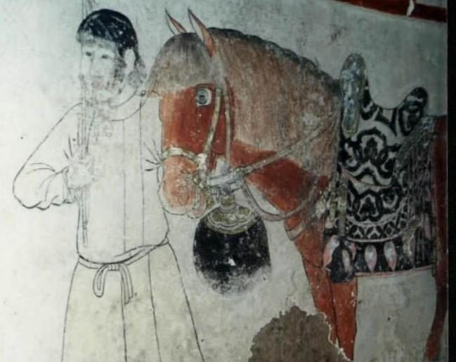 内蒙古风景壁画