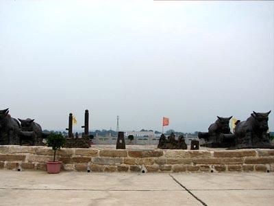 蒲津渡旅游景点图片