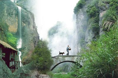 七盘仙谷风景区地处国家4a级旅游区----新昌大佛寺风景名胜,距新昌