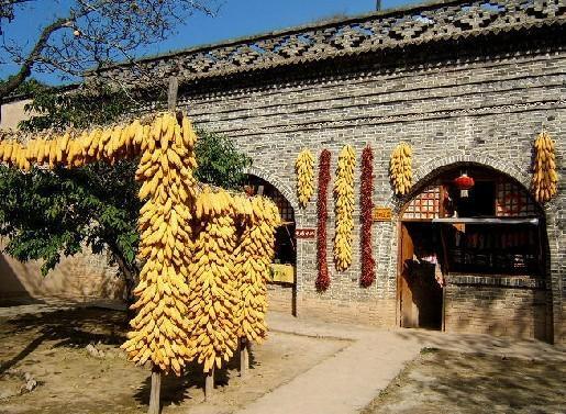 黄土高原民俗村旅游景点图片